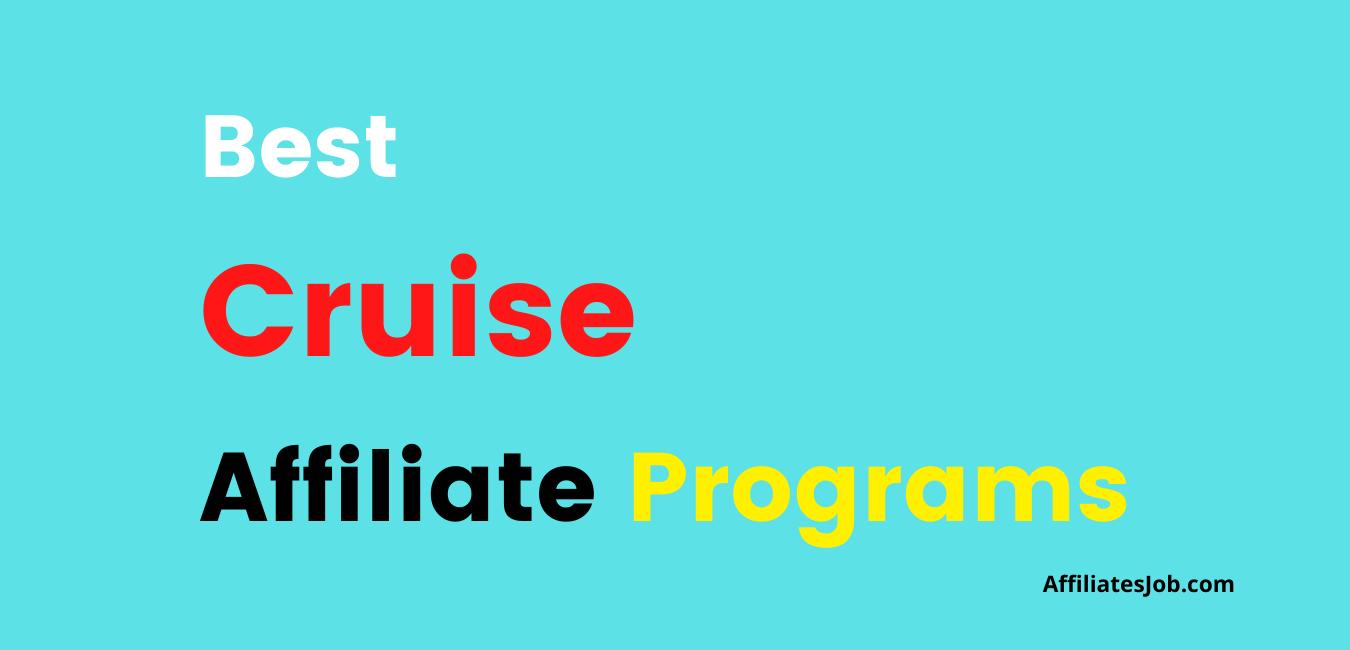 Best Cruise Affiliate Programs